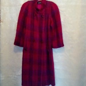 Vintage Paul Levy mohair coat